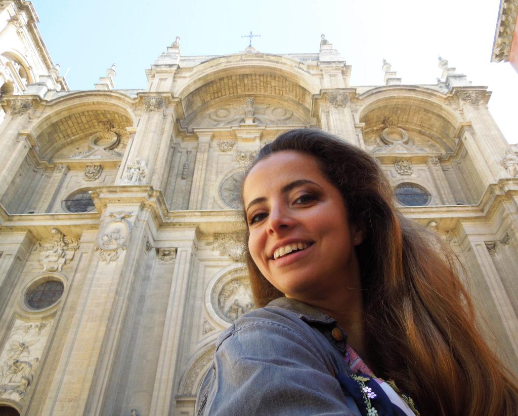 Ioana la catedrala din Granada Spania