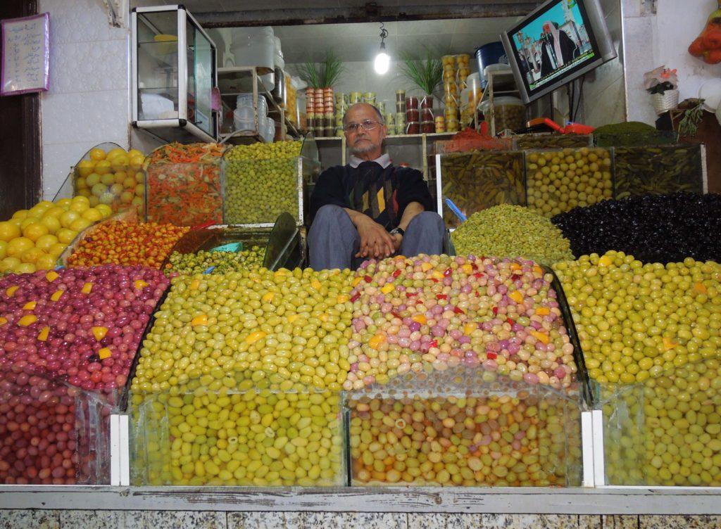 Maroc vanzator de masline