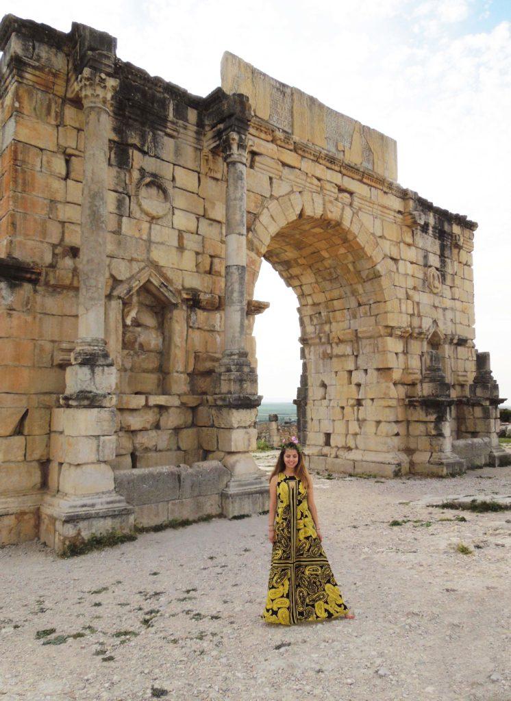 De-ale Ioanei blog pe urmele maurilor Volubilis