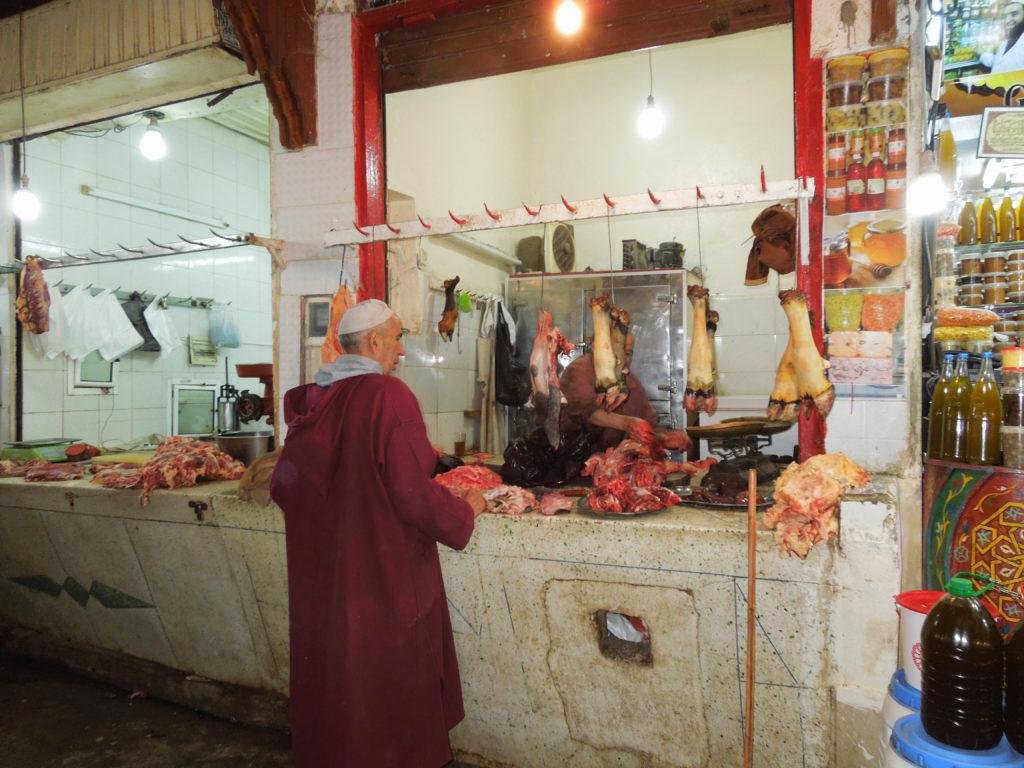 Piata Maroc carne