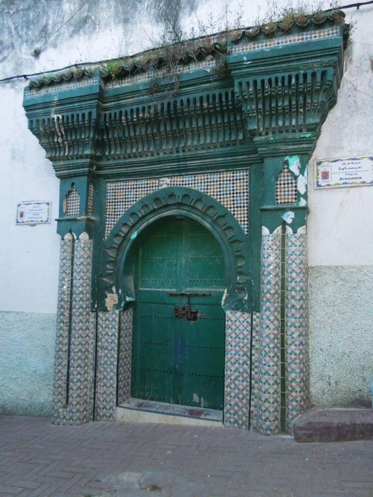 Poarta verde in Tanger Maroc